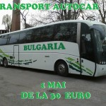 Transport autocar 1 mai Bulgaria
