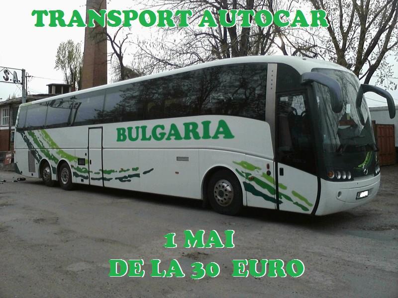 Transport autocar 1 mai Bulgaria